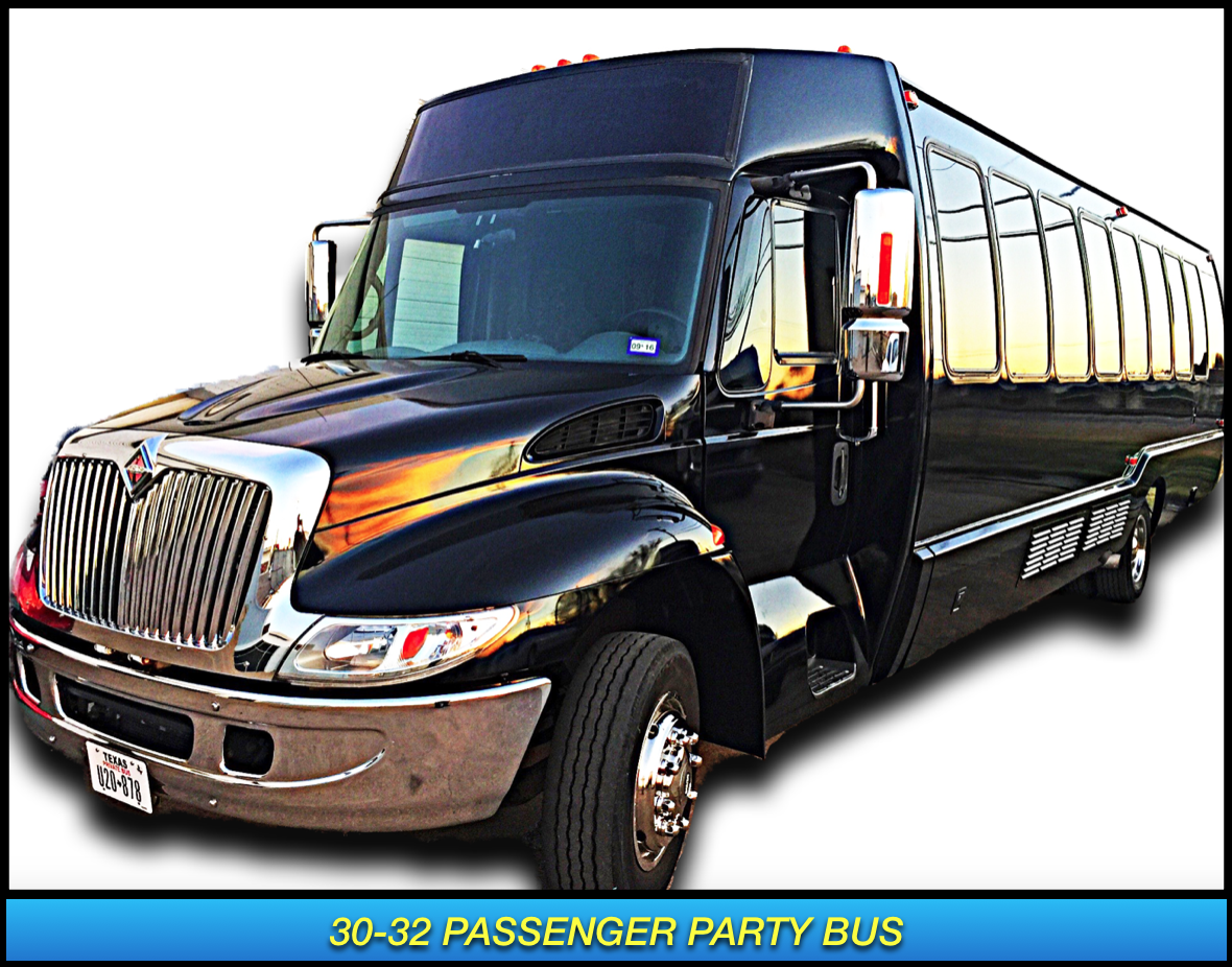 Party Bus rental Dallas Frisco