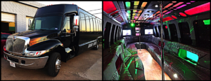 Holiday Lights Tour Party Bus 1
