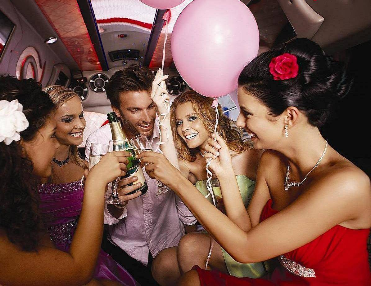 Birthday Party Limo Party Bus DFW Dallas Fort Worth Rental Service