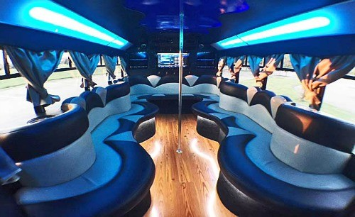 Limo Party Bus DFW Dallas Fort Worth Frisco Southlake Colleyville