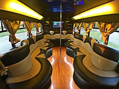Limo Party Bus Dallas Fort Worth Ft Worth DFW Rental Service