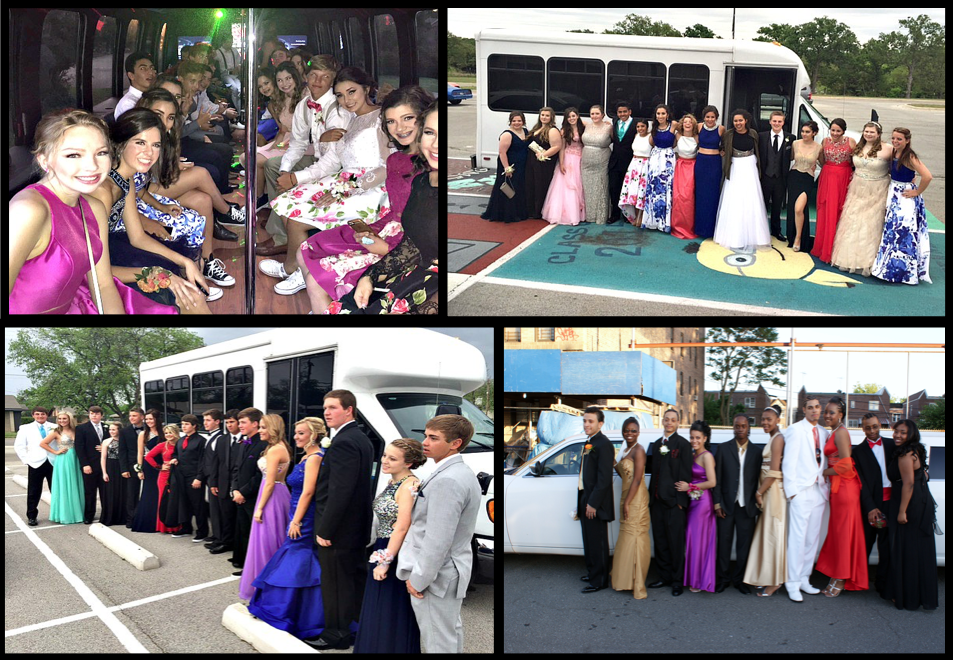 Prom Night Limousine Party Bus
