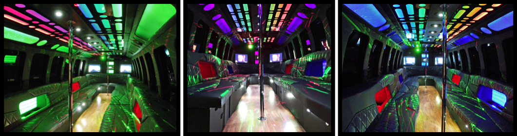 32 Passenger Party Bus DFW Dallas Frisco Southlake
