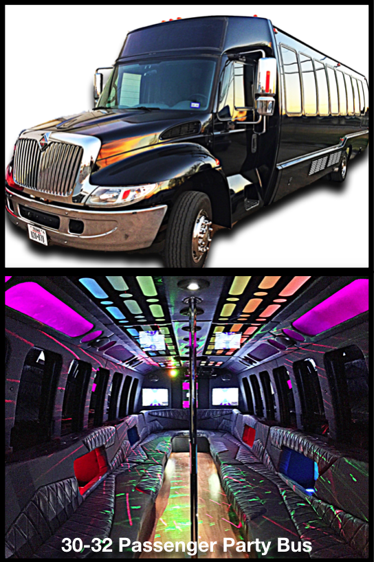 Party Bus Rental Service Dallas Fort Worth