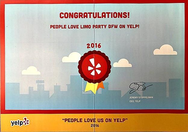 Yelp Certificate Testimonials Customer Reviews