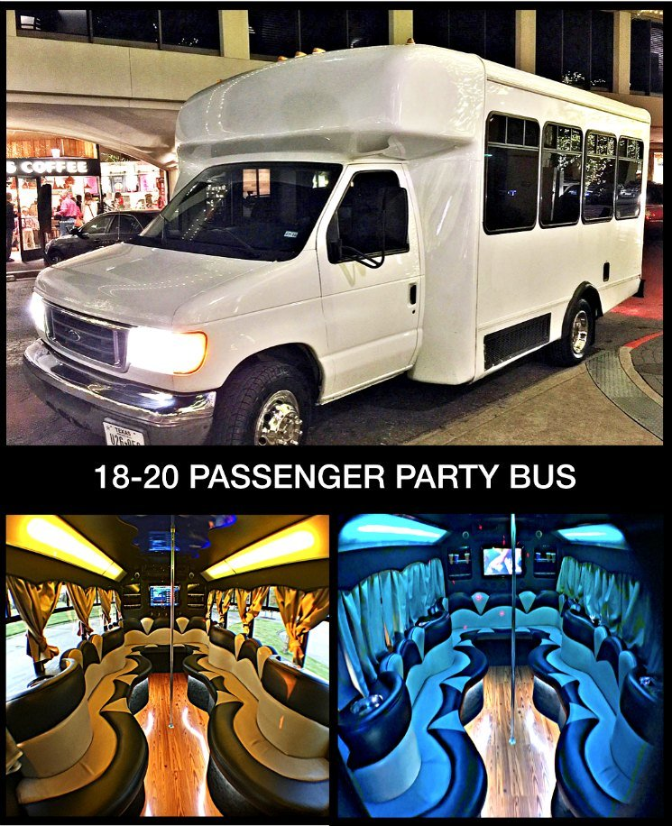 20 Pass Party Bus