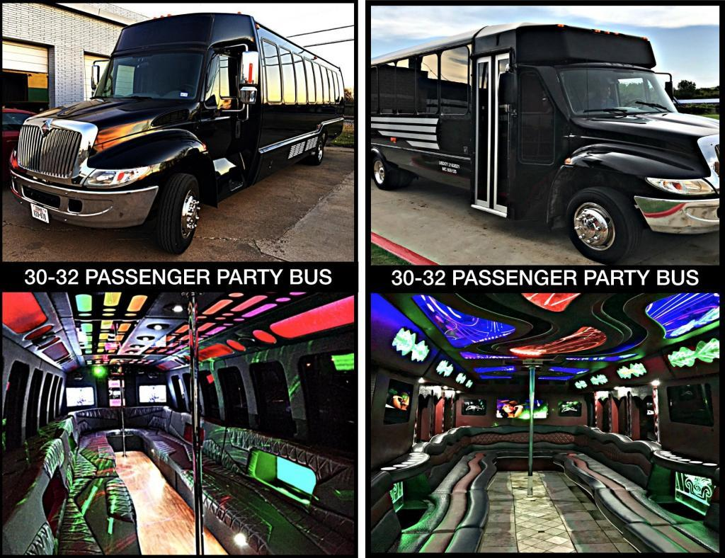 30 Party Bus Prom Night