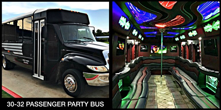 30 Limo Party Bus