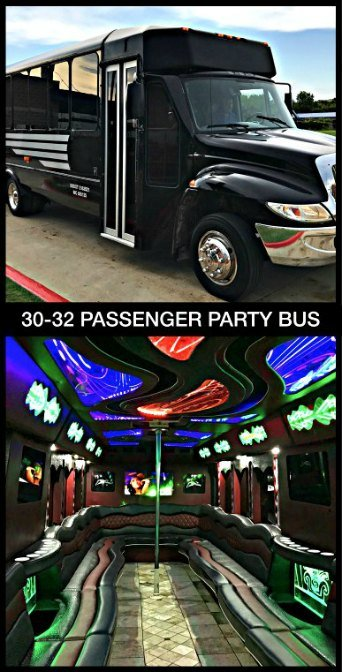 Party Bus Texas Rangers Transportation