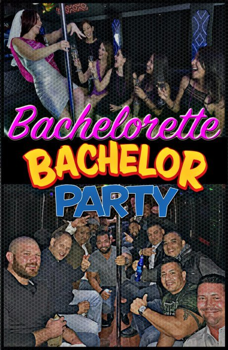 Party Bus Bachelorette Bachelor Party