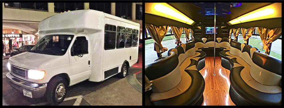 20 Pass Party Bus DFW