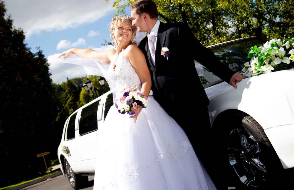 Wedding White Limousine Transportation
